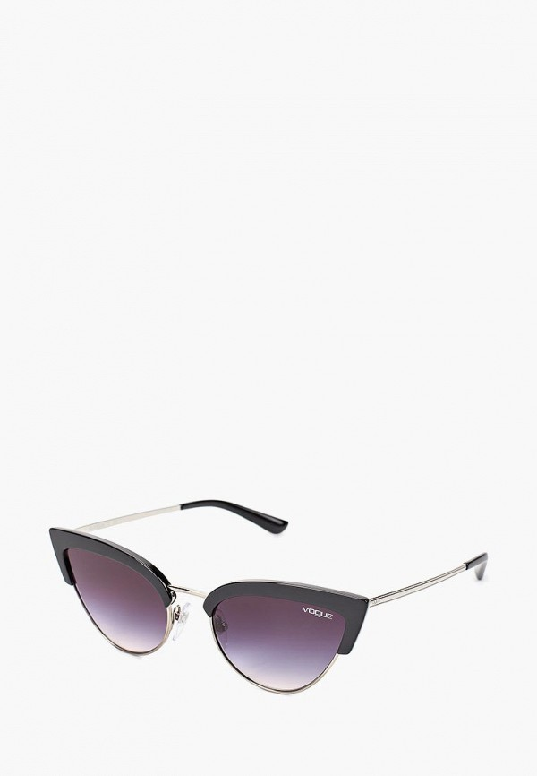 Купить Очки солнцезащитные Vogue® Eyewear, VO5212S W44/36, VO007DWAUPB3, черный, Весна-лето 2018