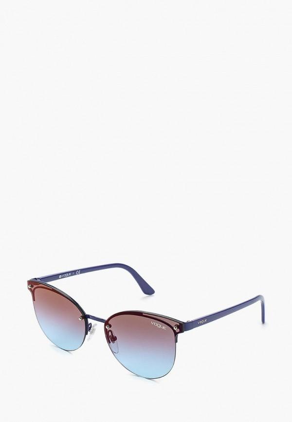 Купить Очки солнцезащитные Vogue® Eyewear, VO4089S 5080H7, VO007DWAUPB4, синий, Осень-зима 2018/2019