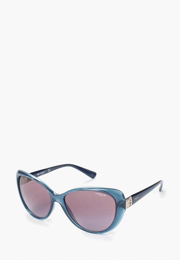 Купить Очки солнцезащитные Vogue® Eyewear, VO5193SB 25348H, VO007DWAUPB8, синий, Осень-зима 2018/2019