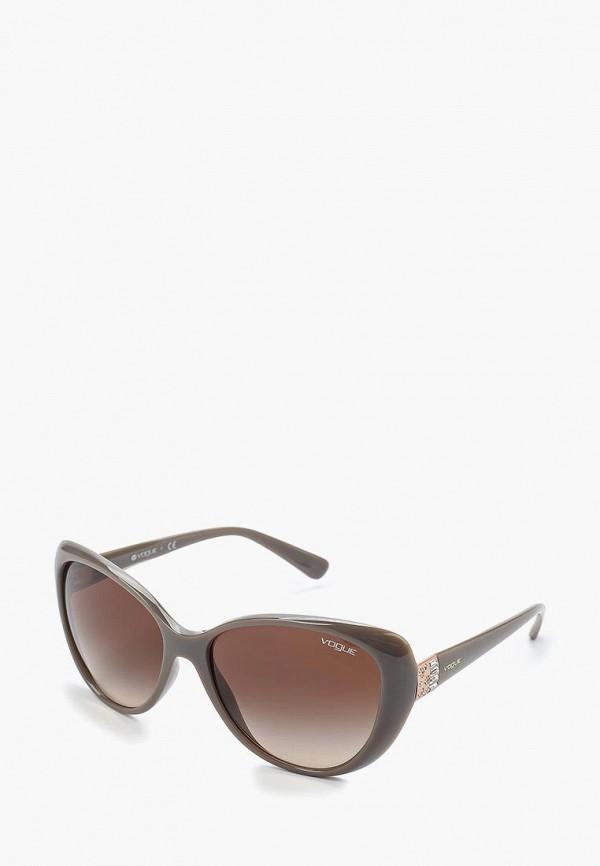 женские солнцезащитные очки vogue® eyewear, серые