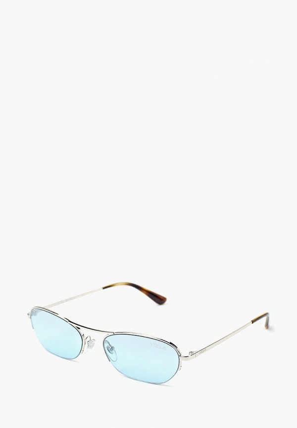 Купить Очки солнцезащитные Vogue® Eyewear, VO4107S 323/7C, VO007DWBZPB2, серебряный, Осень-зима 2018/2019