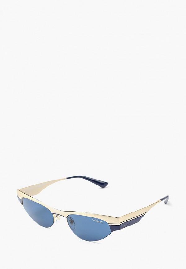 Купить Очки солнцезащитные Vogue® Eyewear, VO4105S 848/80, VO007DWBZPC1, золотой, Осень-зима 2018/2019