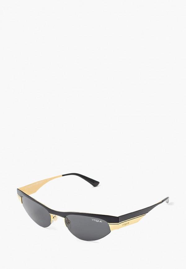 Купить Очки солнцезащитные Vogue® Eyewear, VO4105S 917/87, VO007DWBZPC2, черный, Осень-зима 2018/2019