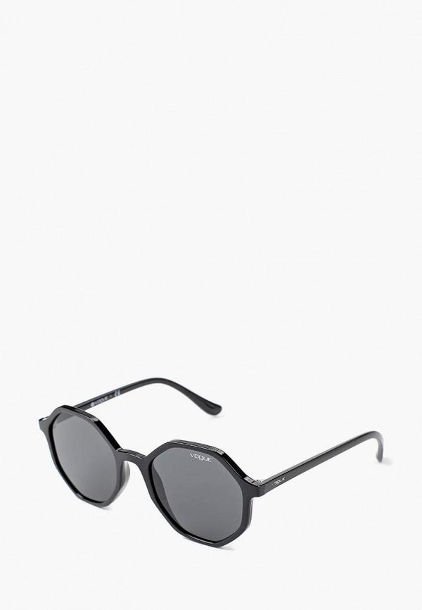 Купить Очки солнцезащитные Vogue® Eyewear, VO5222S W44/87, VO007DWBZPC8, черный, Осень-зима 2018/2019