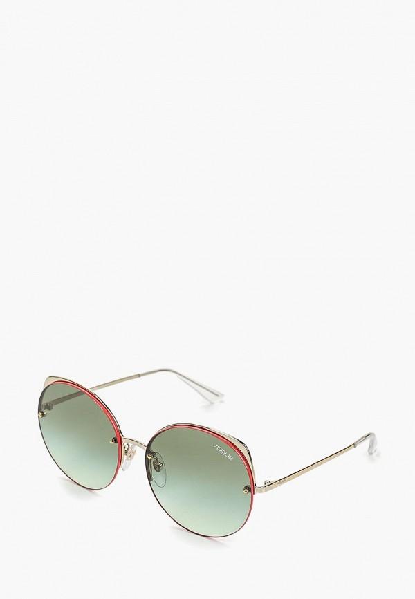 женские солнцезащитные очки vogue® eyewear, зеленые