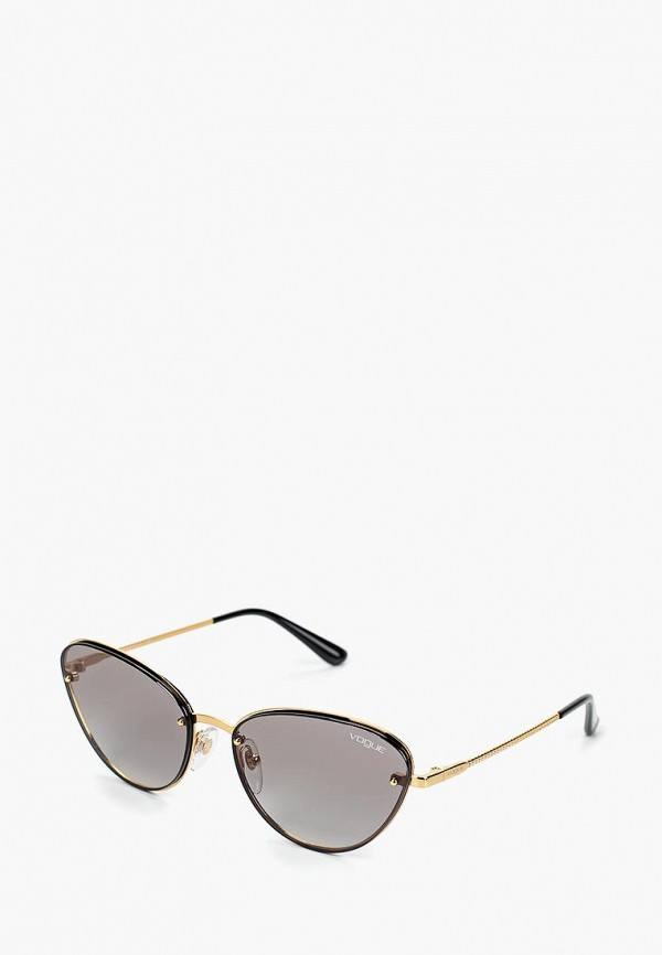 Купить Очки солнцезащитные Vogue® Eyewear, vo007dwdbdc6, золотой, Весна-лето 2019