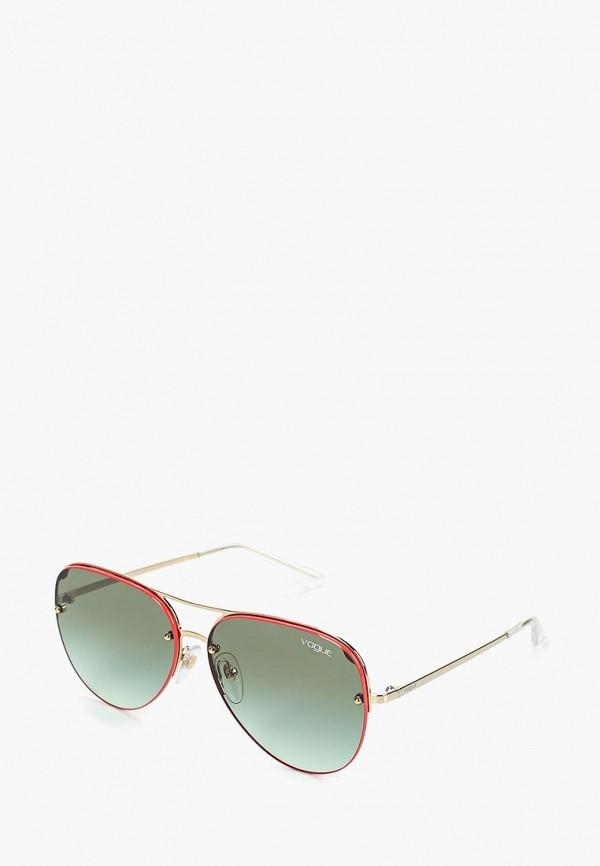женские солнцезащитные очки vogue® eyewear, красные