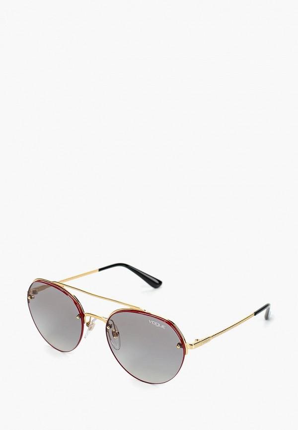 Очки солнцезащитные Vogue® Eyewear Vogue® Eyewear VO007DWDBDD1 очки солнцезащитные vogue® eyewear vogue® eyewear vo007dwtzd74