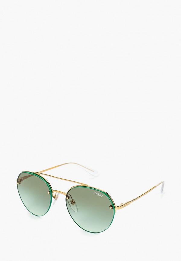 Купить Очки солнцезащитные Vogue® Eyewear, VO4113S 280/8E, vo007dwdbdd2, золотой, Весна-лето 2019
