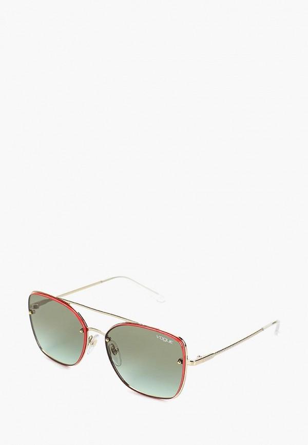 Купить Очки солнцезащитные Vogue® Eyewear, VO4112S 848/8E, vo007dwdbde2, золотой, Весна-лето 2019