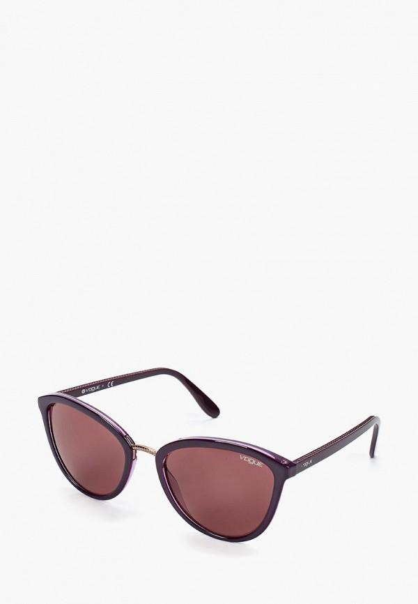 женские солнцезащитные очки vogue® eyewear, фиолетовые