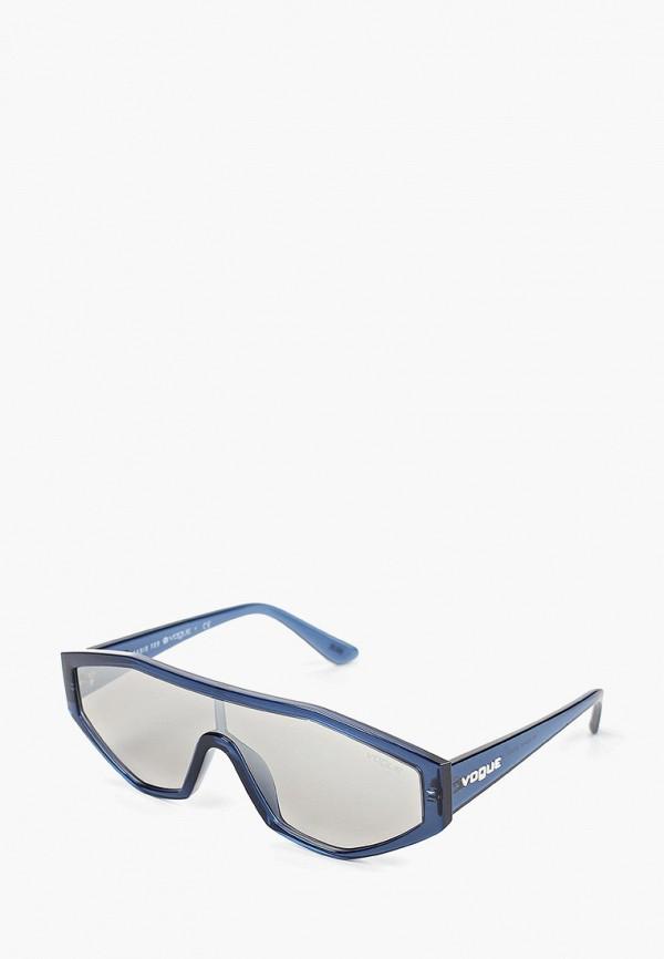 Фото - Очки солнцезащитные Vogue® Eyewear голубого цвета
