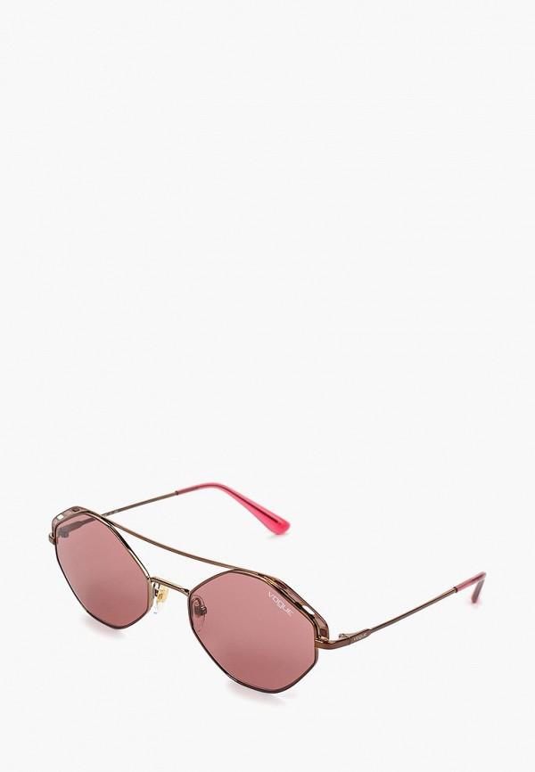 женские солнцезащитные очки vogue® eyewear, бордовые