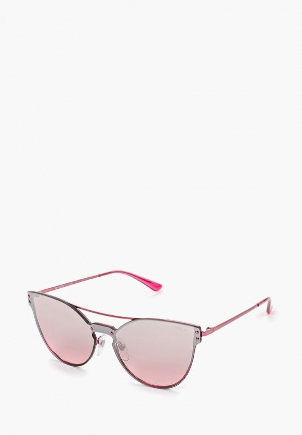 Фото - Очки солнцезащитные Vogue® Eyewear розового цвета