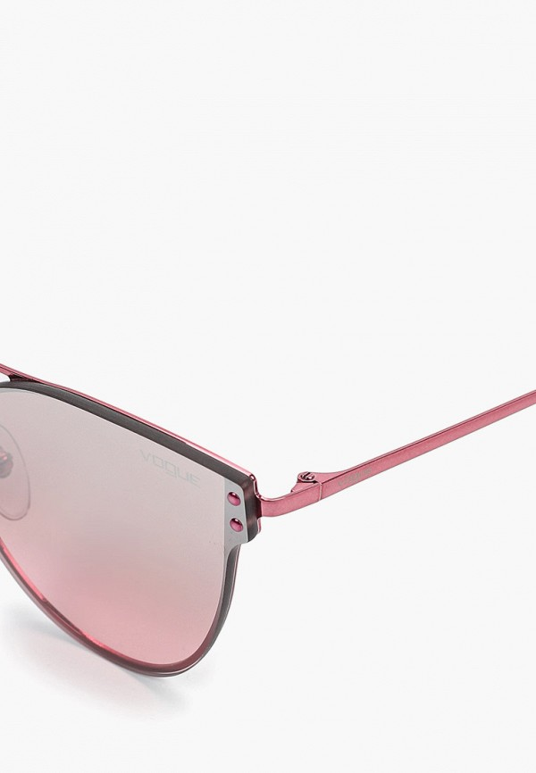 Фото 2 - Очки солнцезащитные Vogue® Eyewear розового цвета