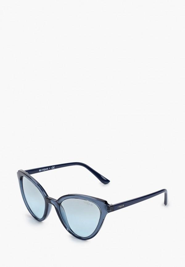 женские солнцезащитные очки vogue® eyewear, синие