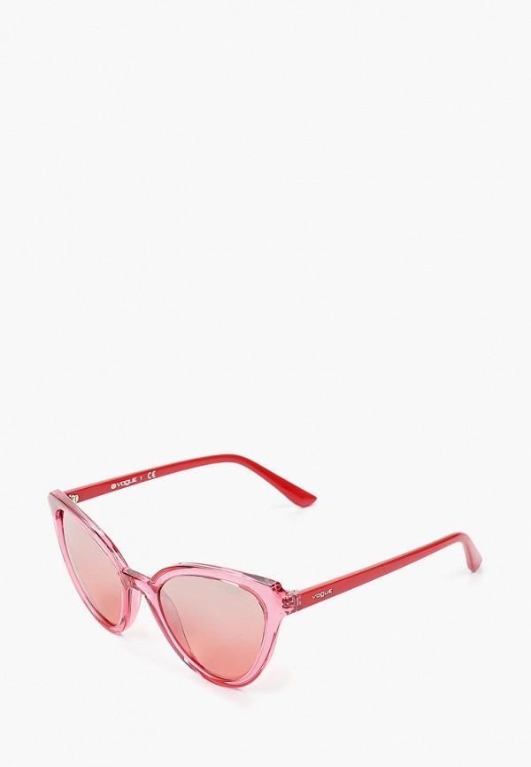 женские солнцезащитные очки кошачьи глаза vogue® eyewear, розовые