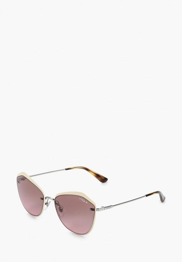 женские солнцезащитные очки vogue® eyewear, розовые