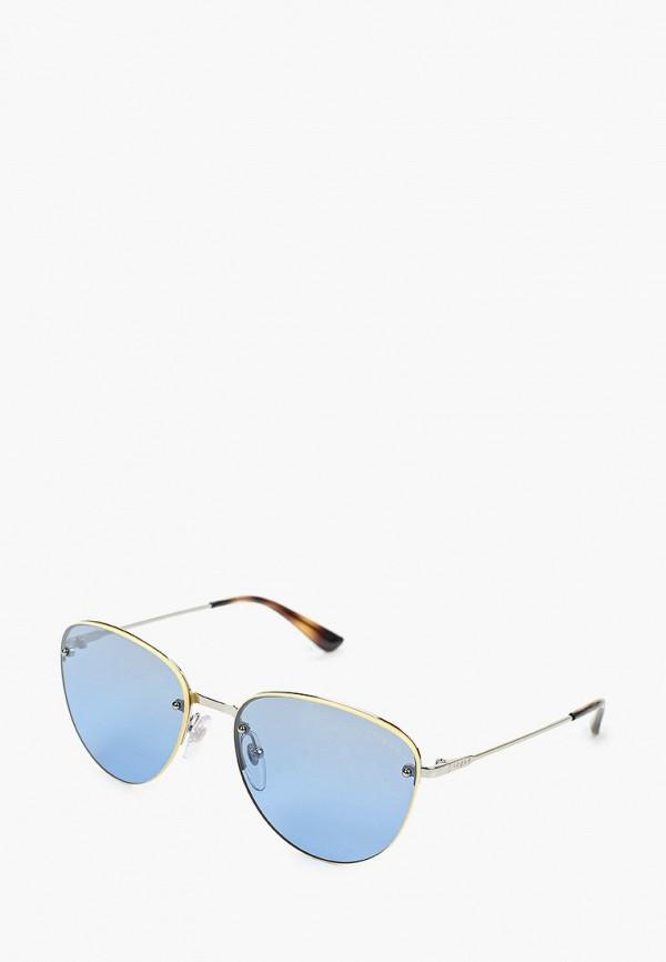 женские круглые солнцезащитные очки vogue® eyewear, желтые