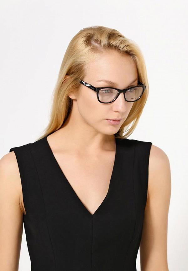 Фото 8 - Оправа Vogue® Eyewear черного цвета