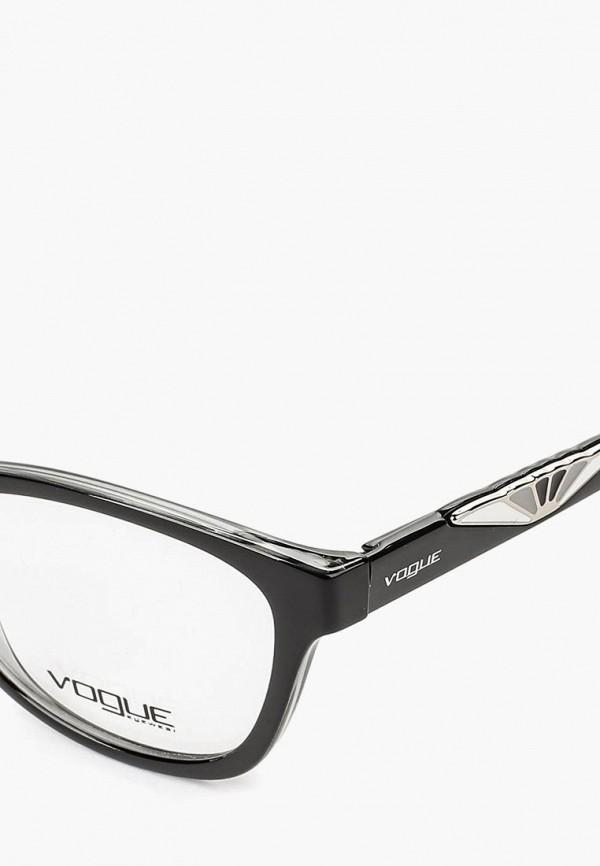 Фото 9 - Оправа Vogue® Eyewear черного цвета