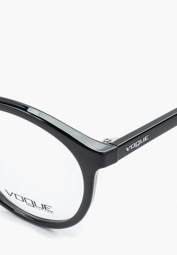 Фото 6 - Оправа Vogue® Eyewear черного цвета