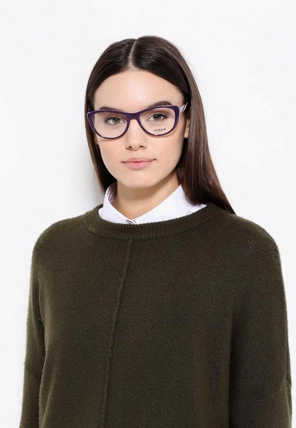 Фото 7 - Оправа Vogue® Eyewear фиолетового цвета