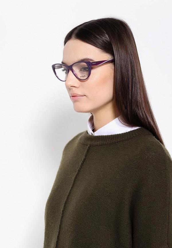 Фото 8 - Оправа Vogue® Eyewear фиолетового цвета