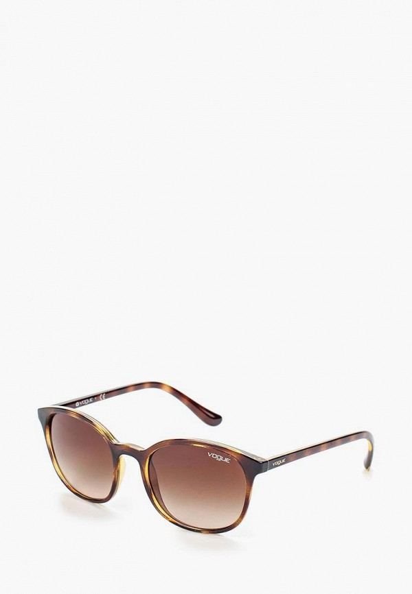 женские солнцезащитные очки vogue® eyewear, коричневые