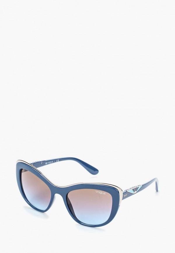 Купить Очки солнцезащитные Vogue® Eyewear, VO5054S 241648, vo007dwozh35, синий, Осень-зима 2018/2019