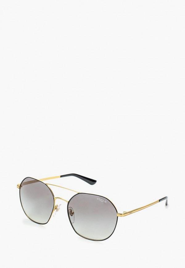 Купить Очки солнцезащитные Vogue® Eyewear, VO4022S 352/11, VO007DWOZH54, золотой, Осень-зима 2018/2019
