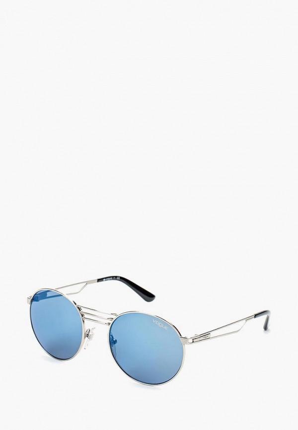 Купить Очки солнцезащитные Vogue® Eyewear, VO4044S 323/55, VO007DWOZH62, серый, Осень-зима 2018/2019