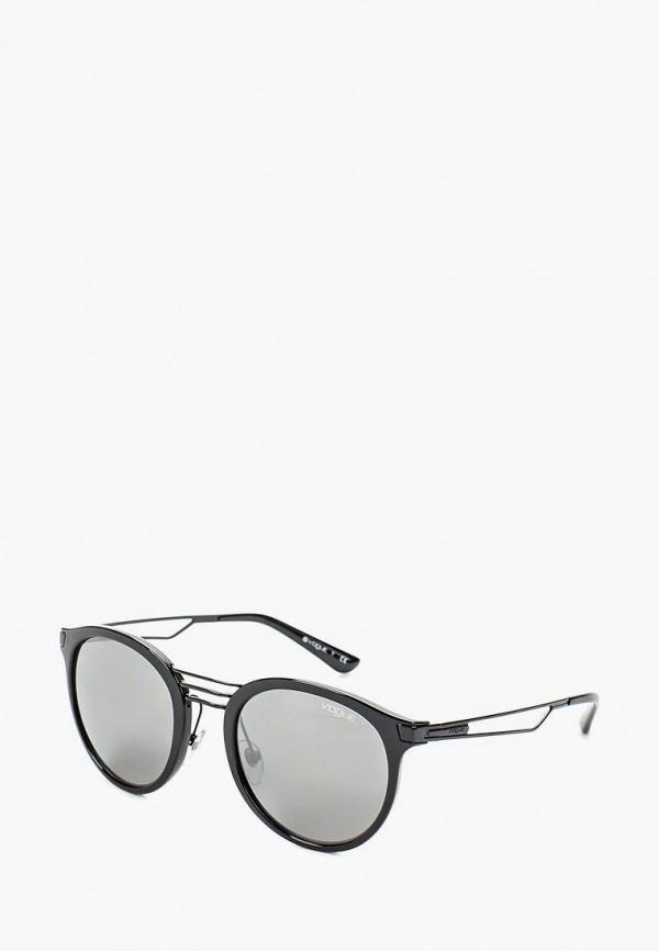 Купить Очки солнцезащитные Vogue® Eyewear, VO5132S W44/6G, VO007DWOZH67, черный, Весна-лето 2018