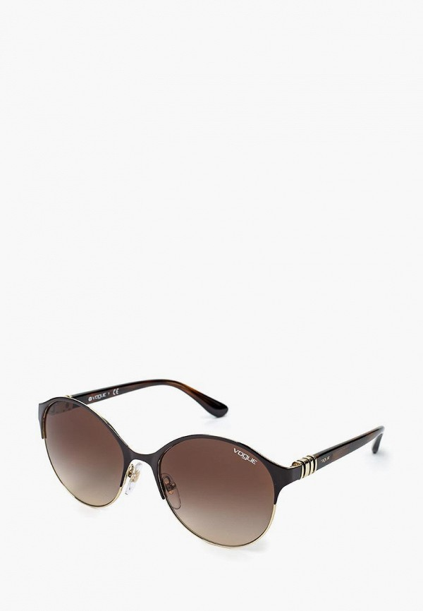 Очки солнцезащитные Vogue® Eyewear Vogue® Eyewear VO007DWQGU55 очки солнцезащитные vogue® eyewear vogue® eyewear vo007dwaupa2