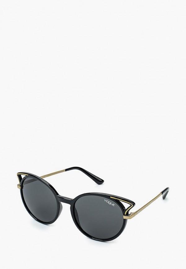 Купить Очки солнцезащитные Vogue® Eyewear, VO5136S W44/87, VO007DWQGU68, черный, Осень-зима 2018/2019