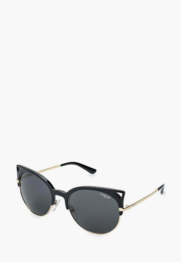 Купить Очки солнцезащитные Vogue® Eyewear, VO5137S W44/87, VO007DWQGU72, черный, Весна-лето 2018