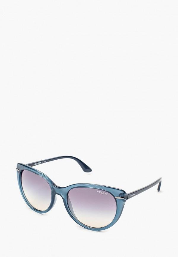Купить Очки солнцезащитные Vogue® Eyewear, VO2941S 25347B, VO007DWQGU75, синий, Осень-зима 2018/2019