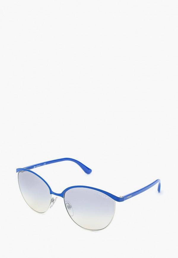 Купить Очки солнцезащитные Vogue® Eyewear, VO4010S 50547B, VO007DWQGU77, синий, Весна-лето 2018