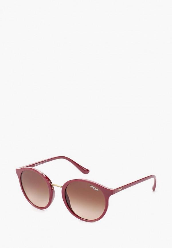 Купить Очки солнцезащитные Vogue® Eyewear, VO5166S 256613, VO007DWTZD56, фиолетовый, Весна-лето 2018