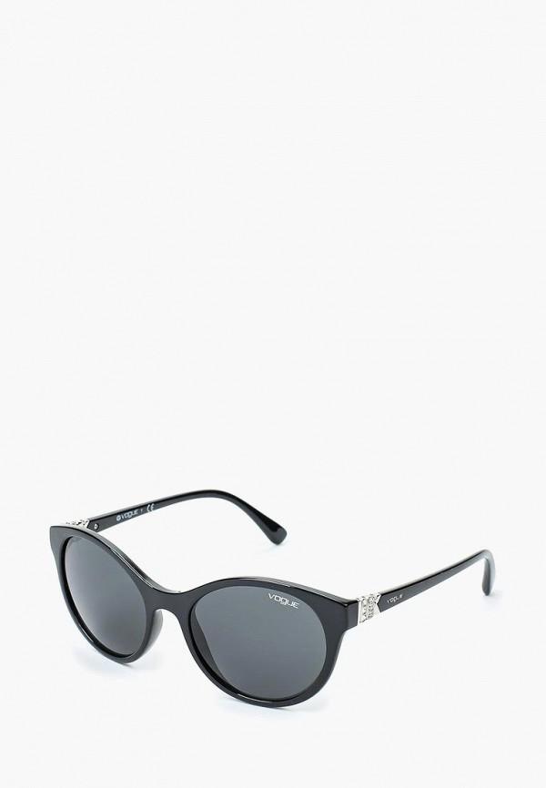 Купить Очки солнцезащитные Vogue® Eyewear, VO5135SB W44/87, VO007DWTZD67, черный, Осень-зима 2018/2019