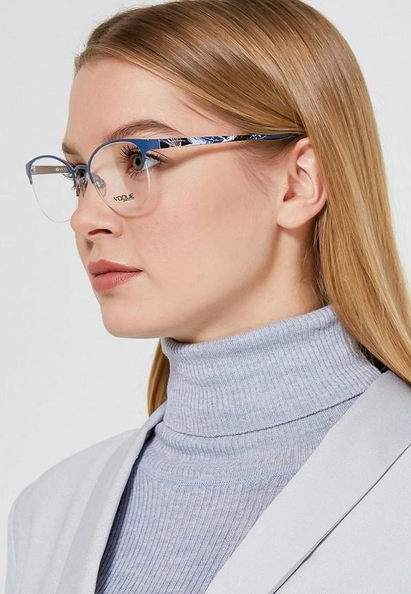 Фото 10 - Оправа Vogue® Eyewear синего цвета