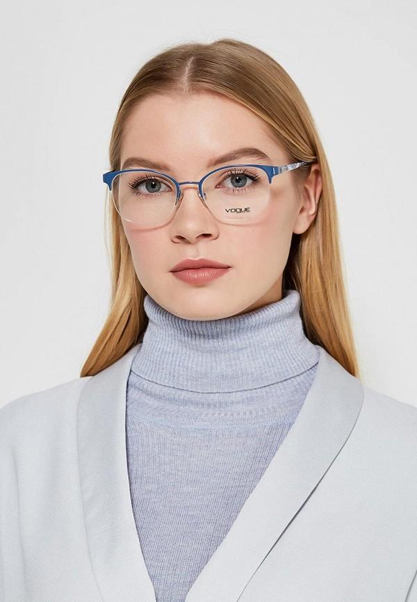 Фото 9 - Оправа Vogue® Eyewear синего цвета