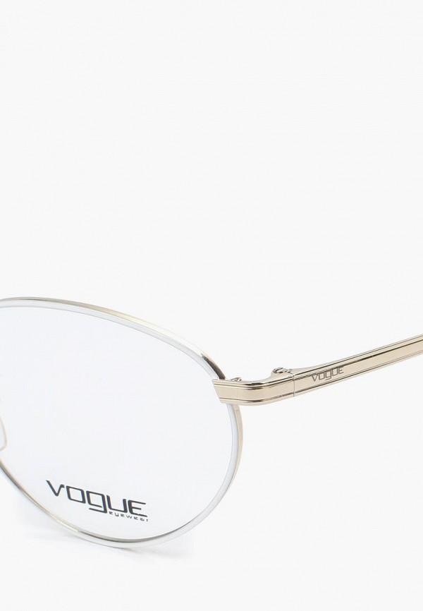 Фото 7 - Оправа Vogue® Eyewear серебрянного цвета