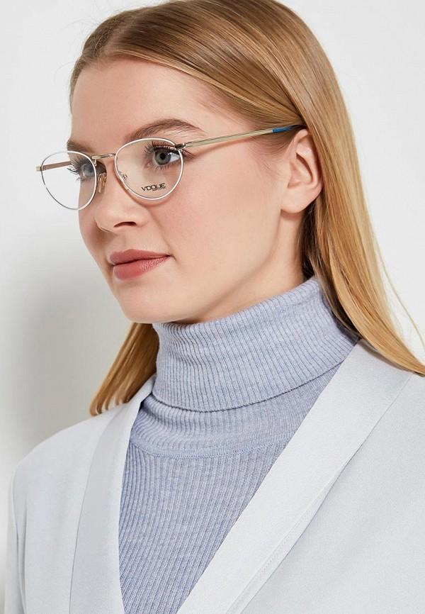 Фото 10 - Оправа Vogue® Eyewear серебрянного цвета