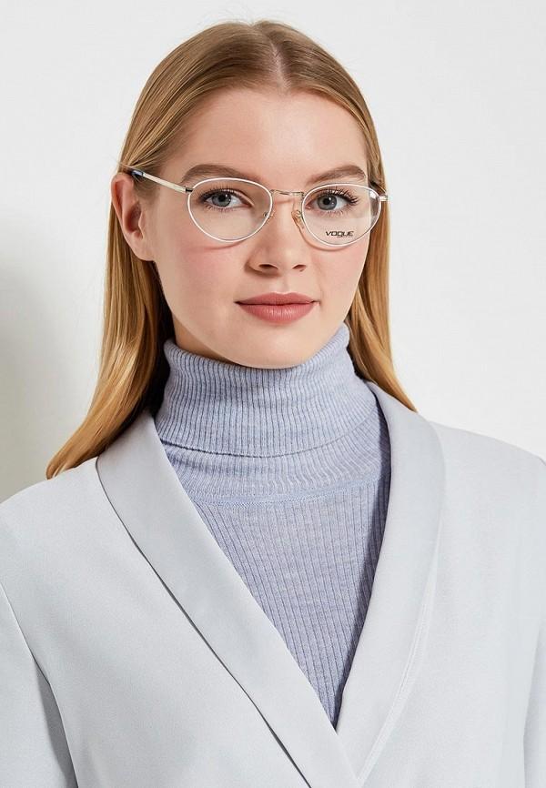 Фото 9 - Оправа Vogue® Eyewear серебрянного цвета