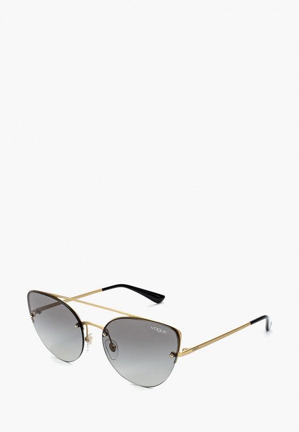 Купить Очки солнцезащитные Vogue® Eyewear, VO4074S 280/11, VO007DWZBF26, золотой, Осень-зима 2018/2019
