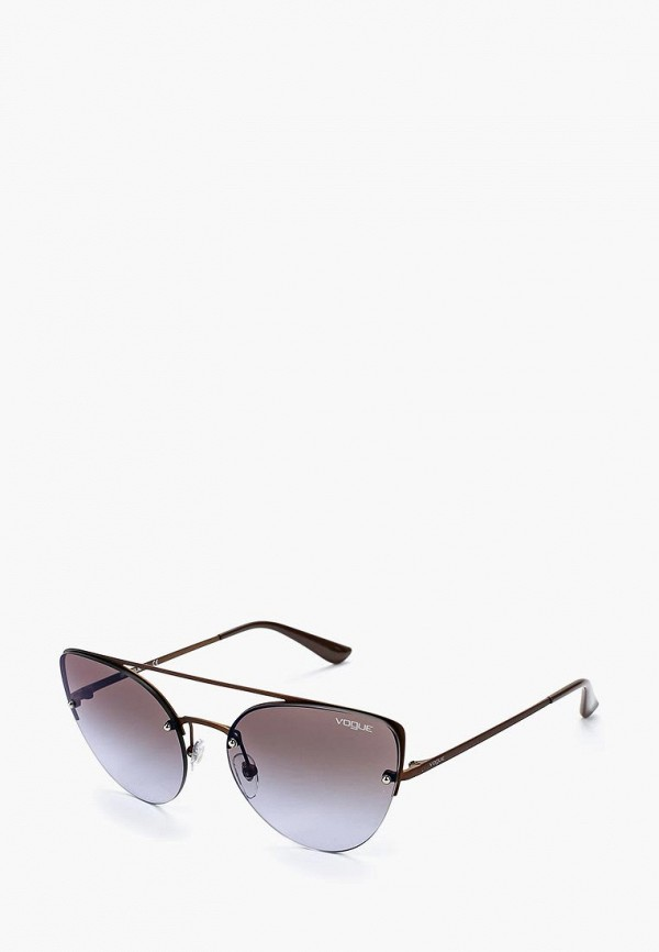 Очки солнцезащитные Vogue® Eyewear Vogue® Eyewear VO007DWZBF27 очки солнцезащитные vogue® eyewear vogue® eyewear vo007dwtzd74