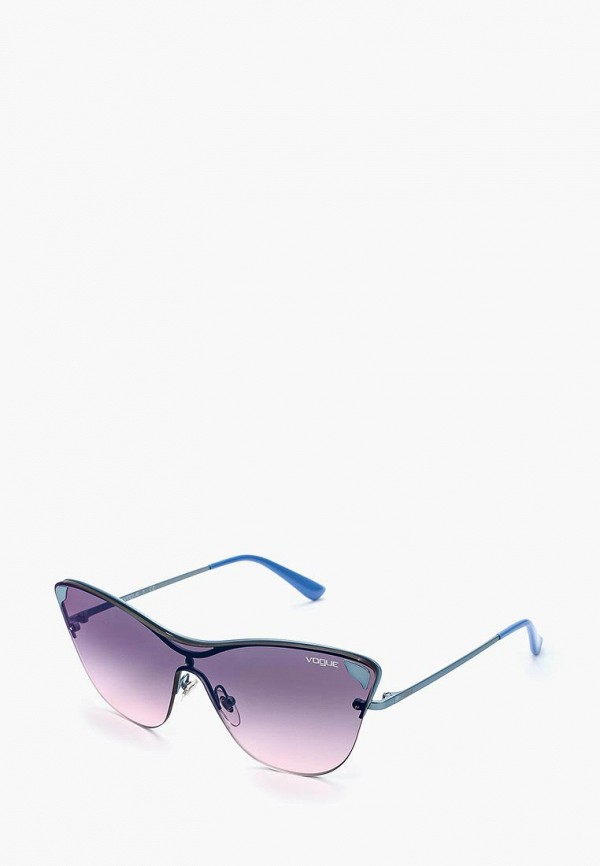 Купить Очки солнцезащитные Vogue® Eyewear, VO4079S 5077H9, VO007DWZBF38, синий, Осень-зима 2018/2019