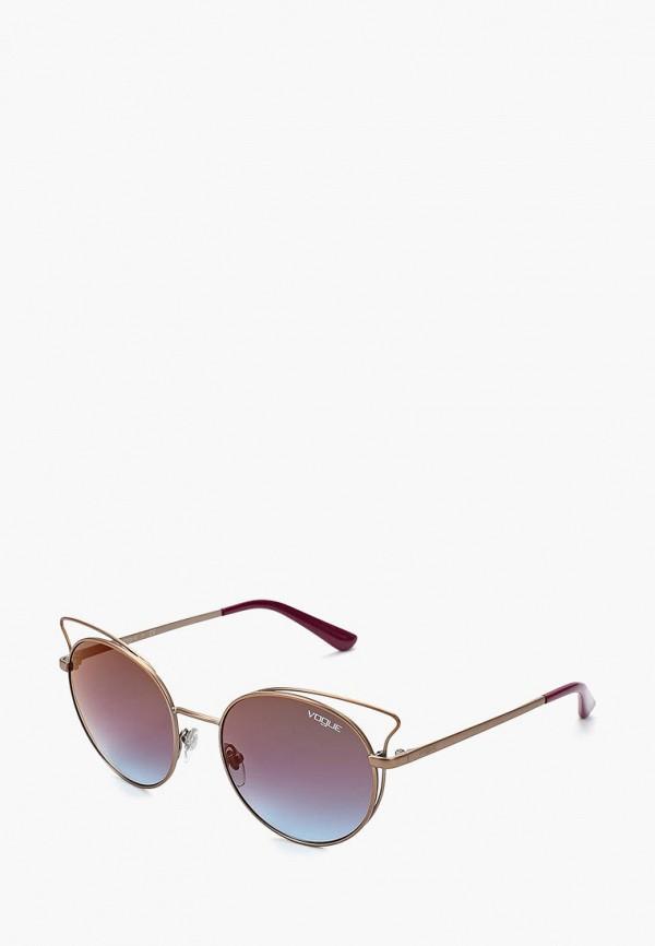 Купить Очки солнцезащитные Vogue® Eyewear, VO4048S 5075H7, VO007DWZBF43, золотой, Осень-зима 2018/2019