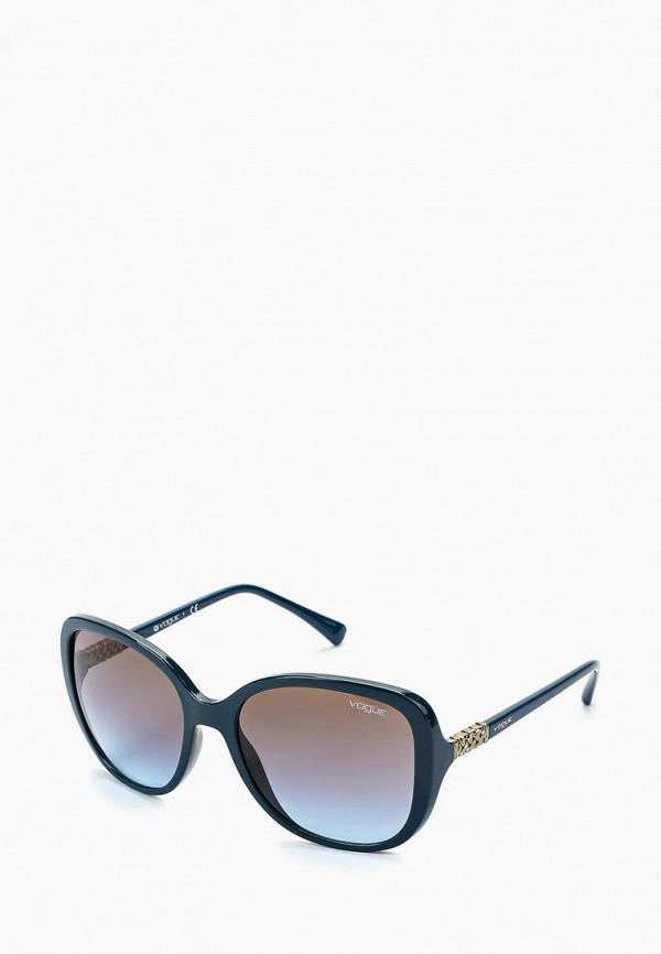 Купить Очки солнцезащитные Vogue® Eyewear, VO5154SB 246348, vo007dwzbf46, синий, Осень-зима 2018/2019